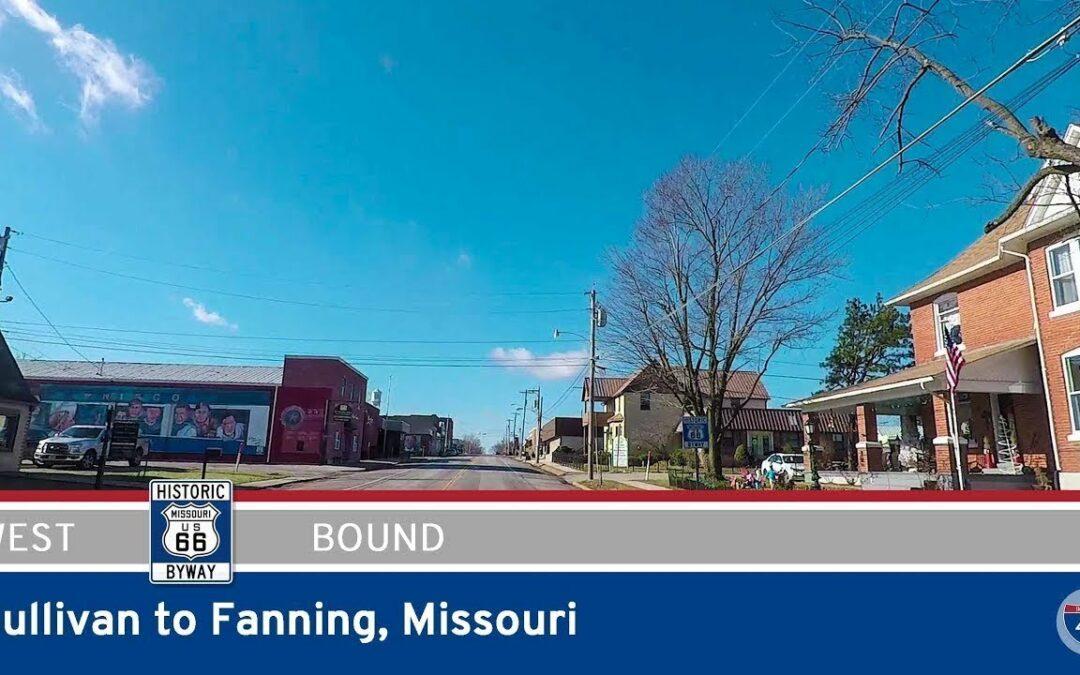 Historic Route 66 – Sullivan to Fanning – Missouri