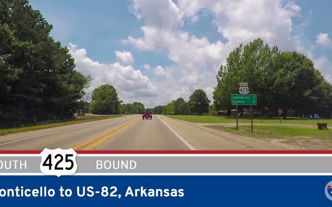US Highway 425 – Monticello to US-82 – Arkansas