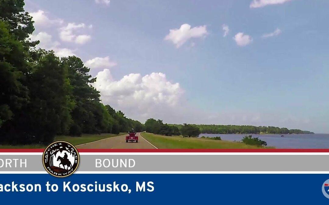Natchez Trace Parkway – Jackson to Kosciusko – Mississippi