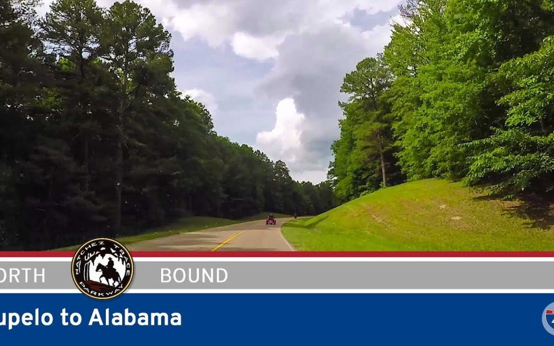 Natchez Trace Parkway – Tupelo to Alabama – Mississippi