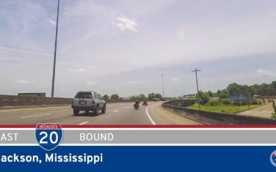 Interstate 20 – Clinton to Jackson – Mississippi