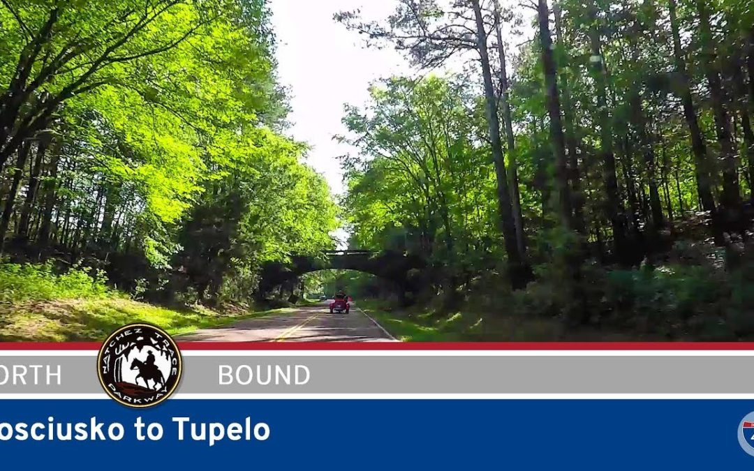 Natchez Trace Parkway – Kosciusko to Tupelo – Mississippi
