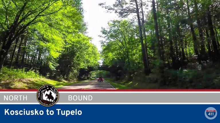 Natchez Trace Parkway - Kosciusko to Tupelo - Mississippi