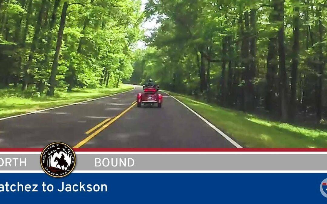 Natchez Trace Parkway – Natchez to Jackson – Mississippi