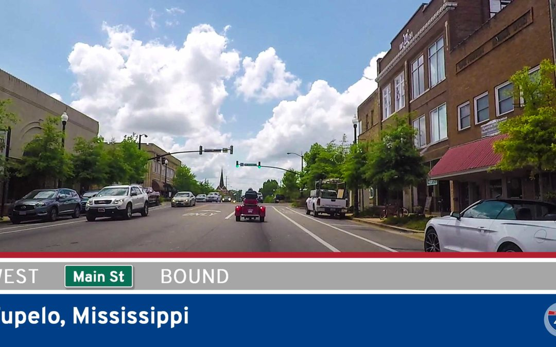 Main Street – Westbound – Tupelo – Mississippi