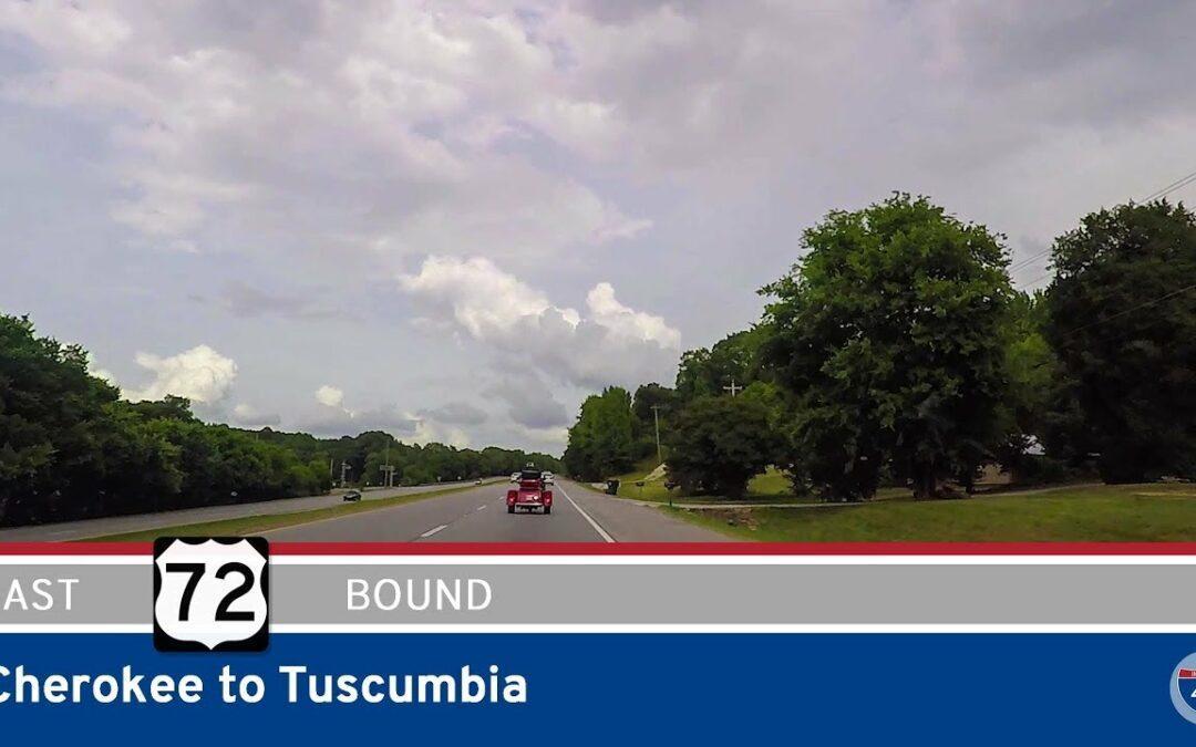 U.S. Highway 72 – Cherokee to Tuscumbia – Alabama