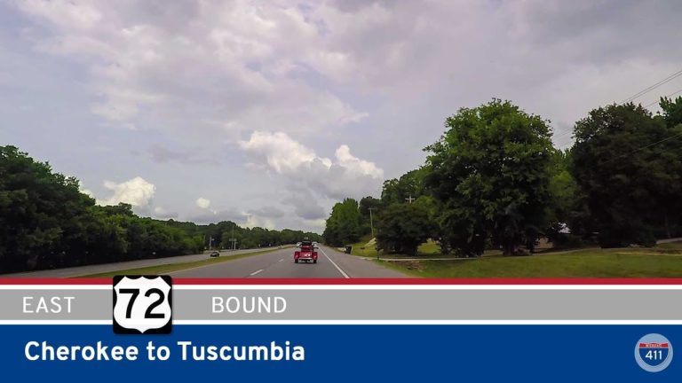 U.S. Highway 72 - Cherokee to Tuscumbia - Alabama