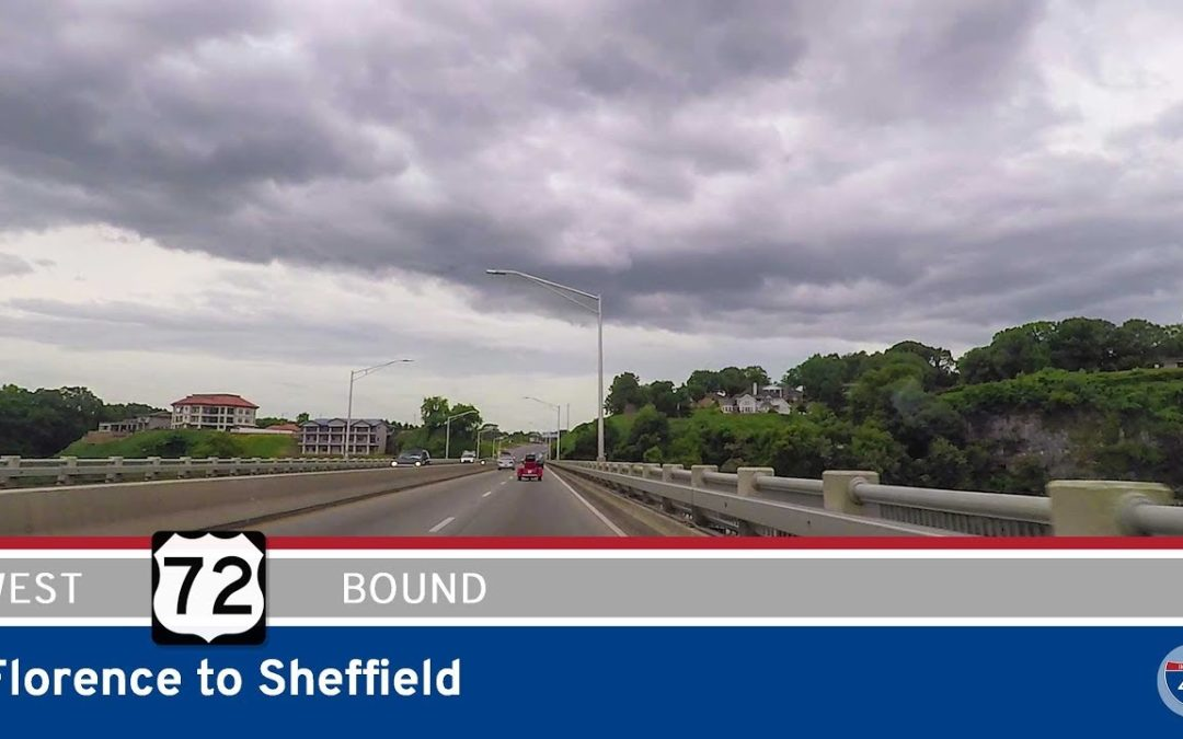 US Highway 72 – Florence to Sheffield – Alabama