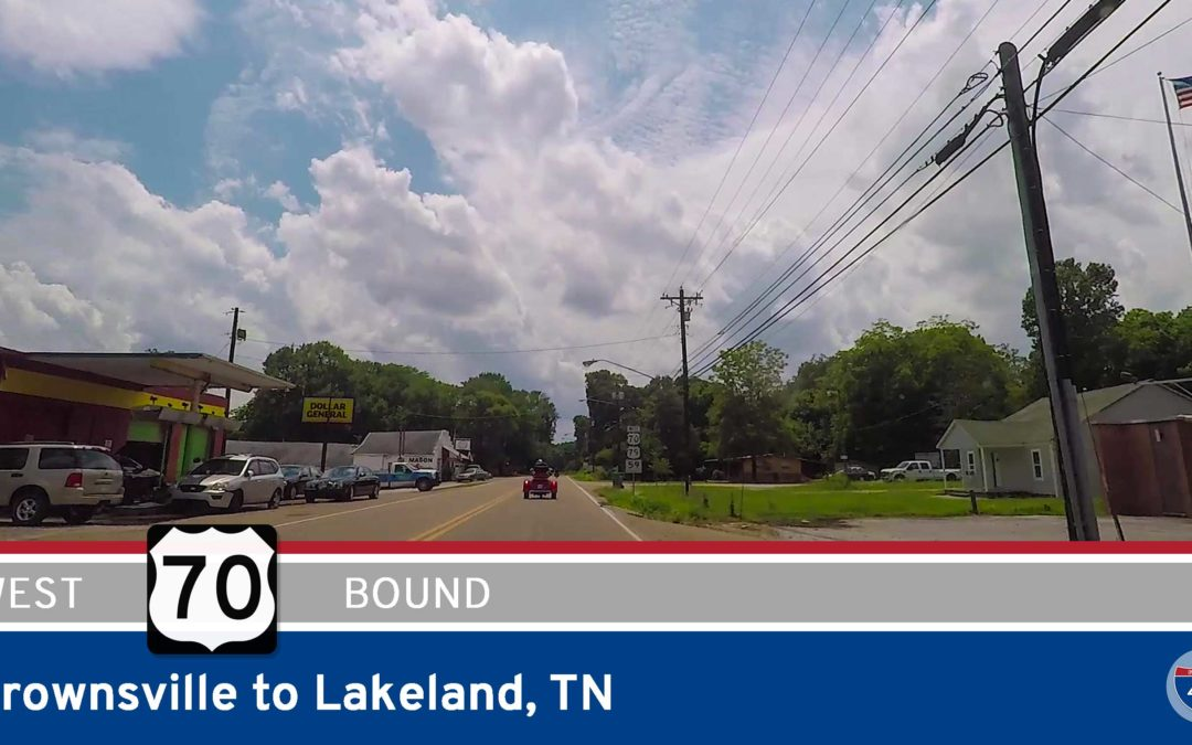 U.S. Highway 70 – Brownsville to Lakeland – Tennessee