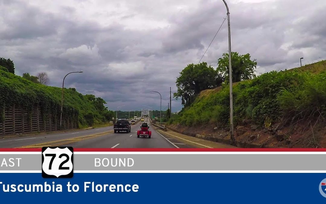 U.S. Highway 72 – Tuscumbia to Florence – Alabama