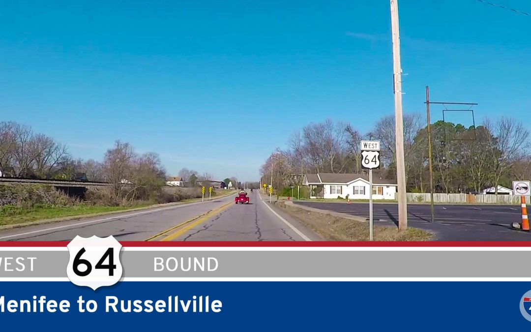U.S. Highway 64 – Menifee to Russellville – Arkansas