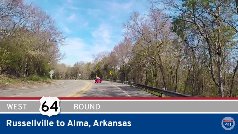 U.S. Highway 64 - Russellville to Alma - Arkansas