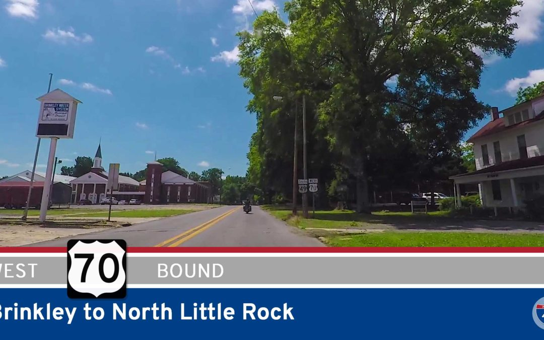 U.S. Highway 70 – Brinkley to North Little Rock – Arkansas
