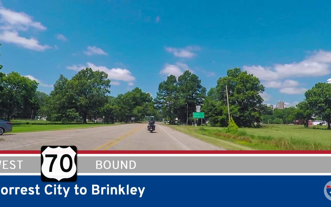 U.S. Highway 70 – Forrest City to Brinkley – Arkansas