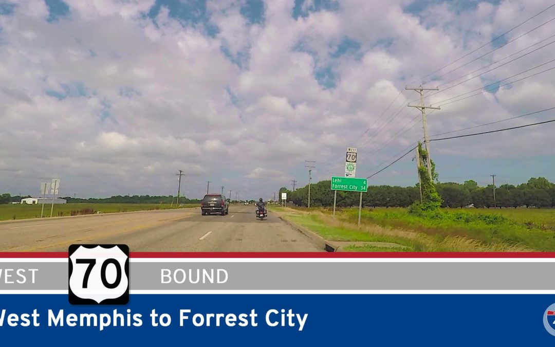 U.S. Highway 70 – West Memphis to Forrest City – Arkansas