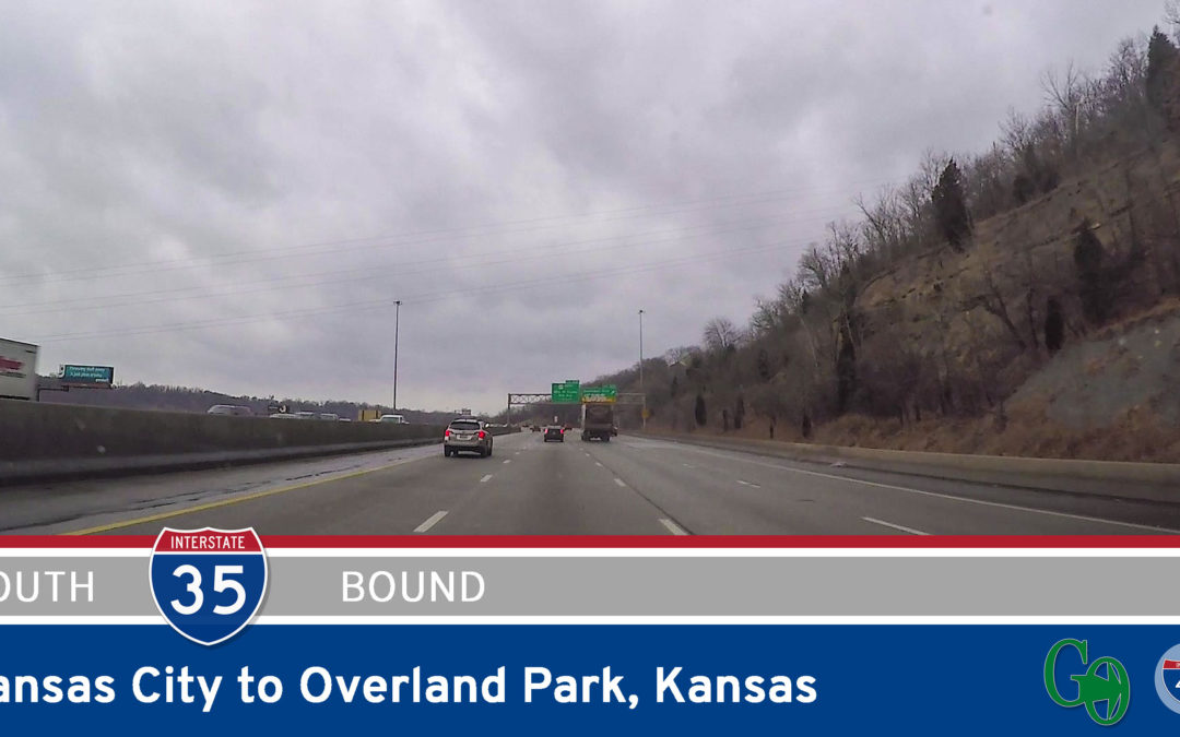 Interstate 35 – Kansas City to Overland Park – Kansas
