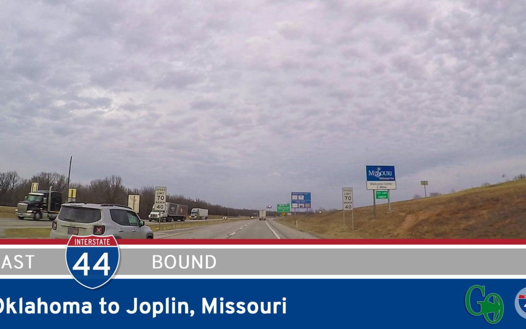 Interstate 44 – Oklahoma to Joplin – Missouri