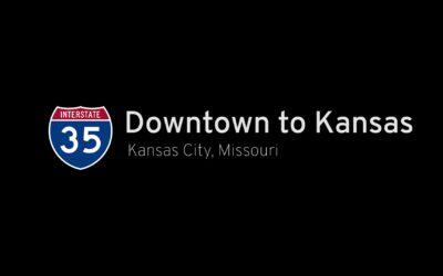 Interstate 35 – Downtown to Kansas in Kansas City Missouri