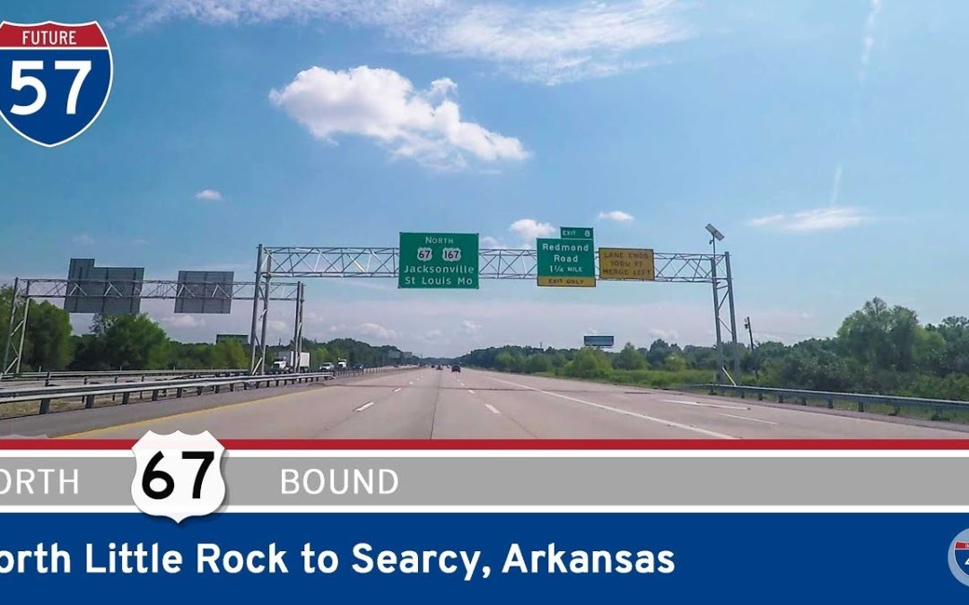 U.S. Highway 67 – North Little Rock to Searcy – Arkansas