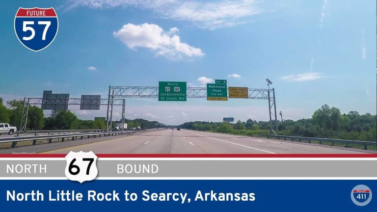 U.S. Highway 67 - North Little Rock to Searcy - Arkansas
