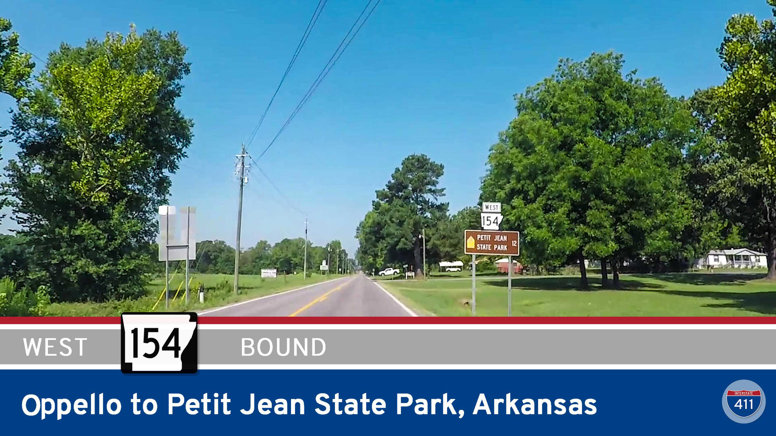 Arkansas Highway 154 – Opello to Petit Jean State Park | Drive America's Highways 🚙