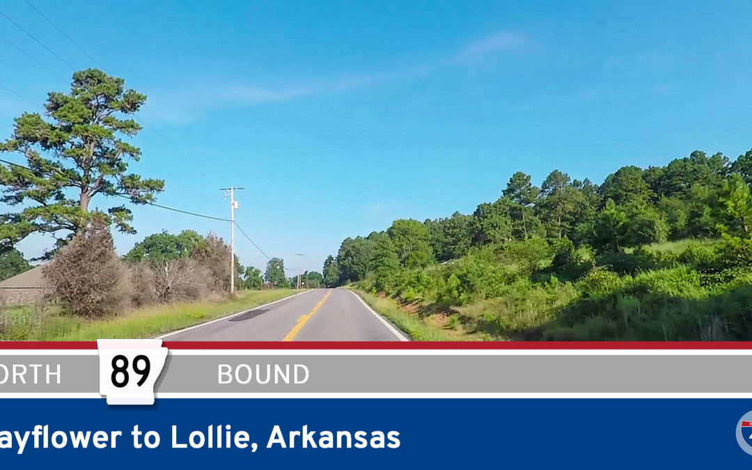 Arkansas Highway 89 – Mayflower to Lollie