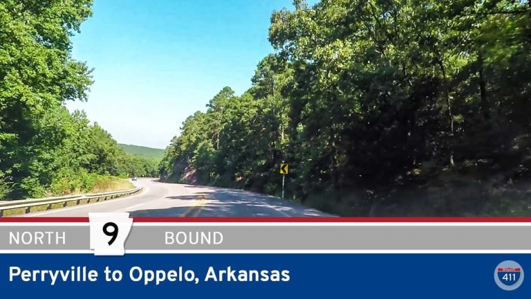 Arkansas Highway 9 - Perryville to Oppelo