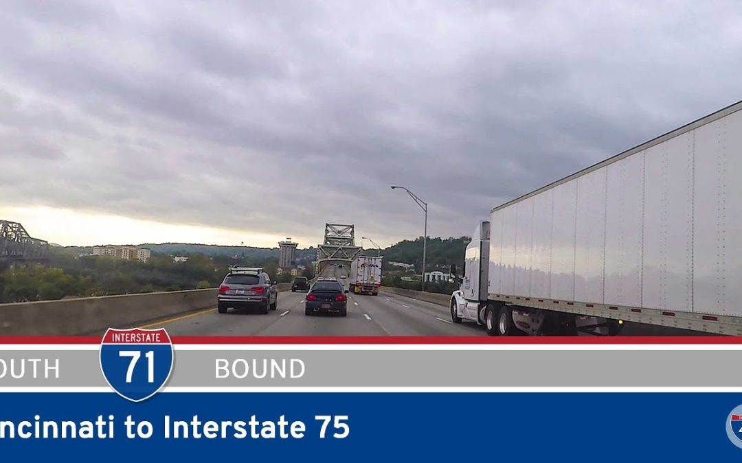 Interstate 71 – Cincinnati to Interstate 75 – Kentucky