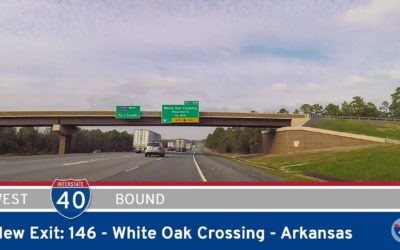Interstate 40 – New Exit 146 – White Oak Crossing – Arkansas