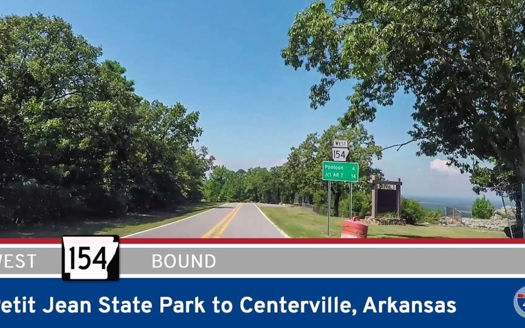 Arkansas Highway 154 – Petit Jean State Park to Centerville