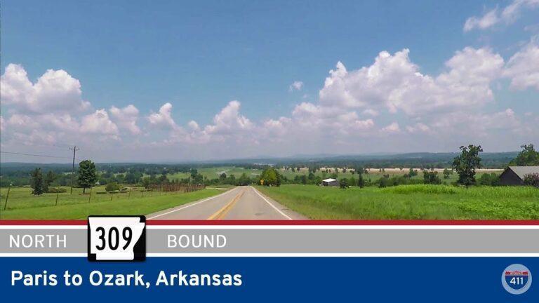 Arkansas Highway 309 - Paris to Ozark