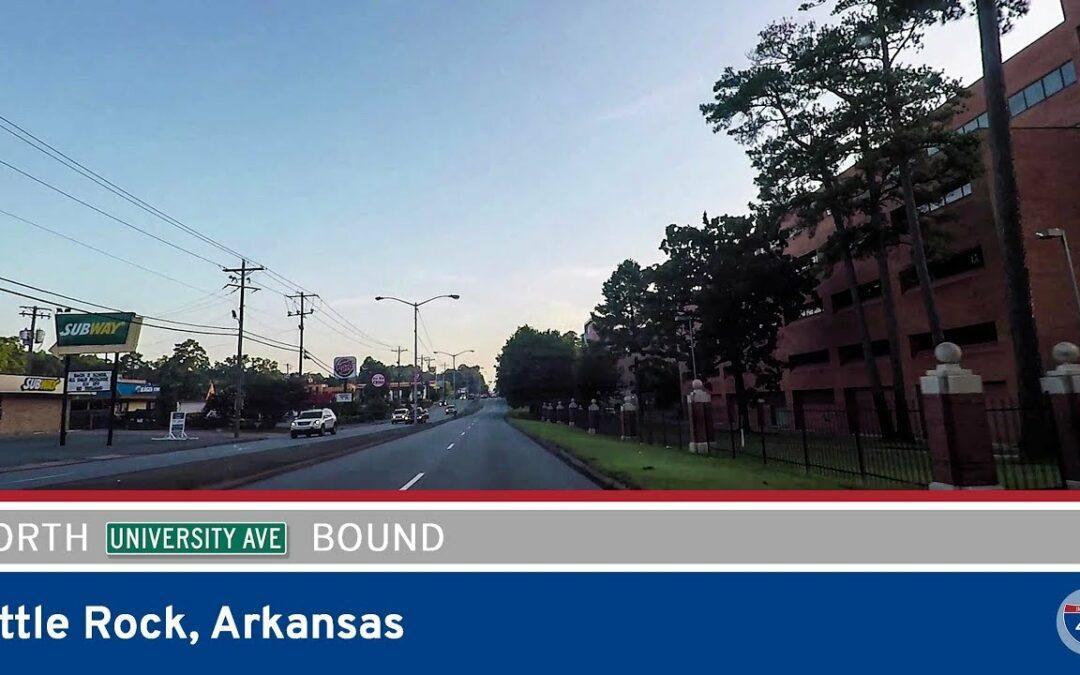University Avenue Northbound – UA Little Rock to Interstate 630 – Little Rock