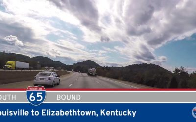 Interstate 65 – Louisville to Elizabethtown – Kentucky