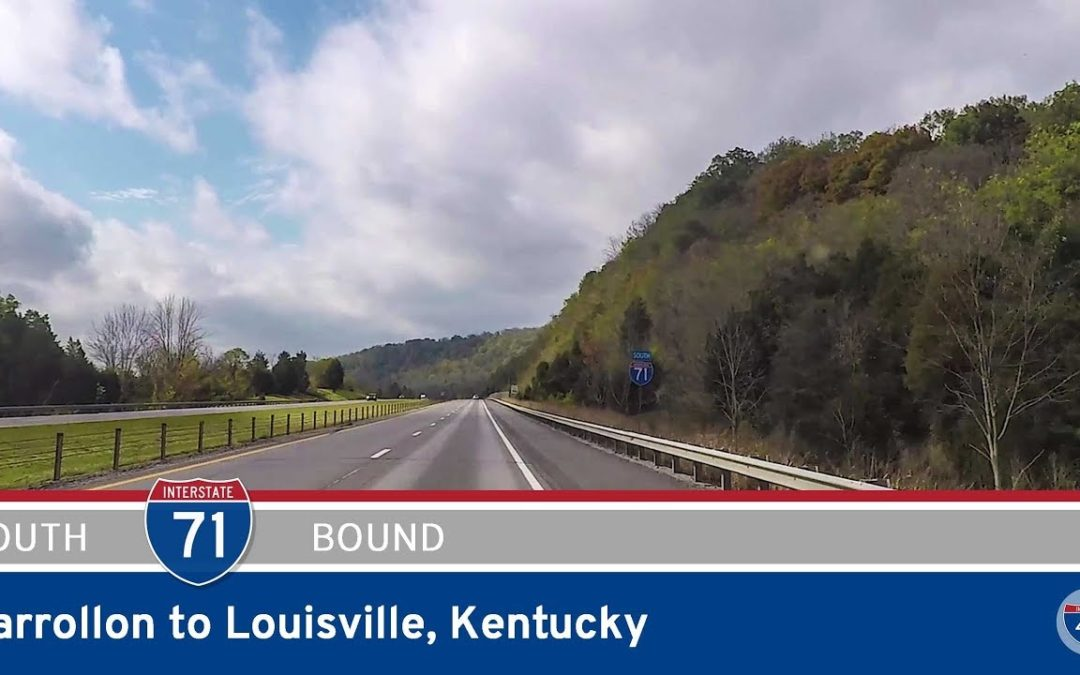 Interstate 71 – Carrollon to Louisville – Kentucky