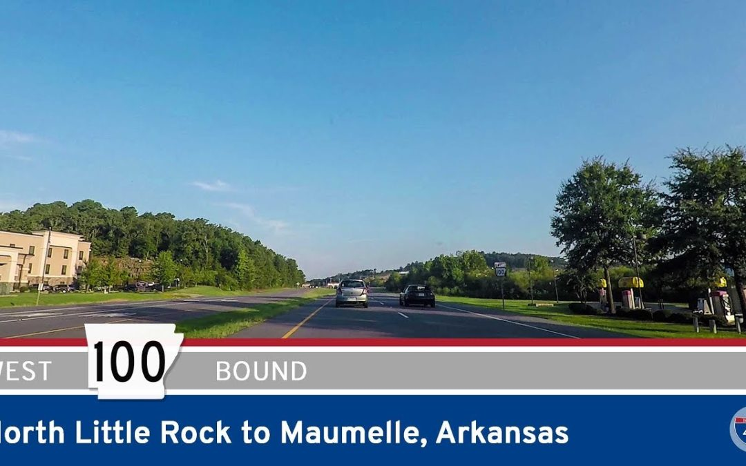 Arkansas Highway 100 – North Little Rock to Maumelle