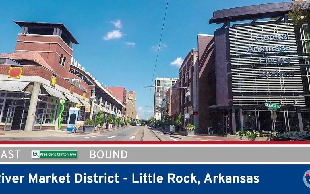 President Clinton Ave in Little Rock – Arkansas