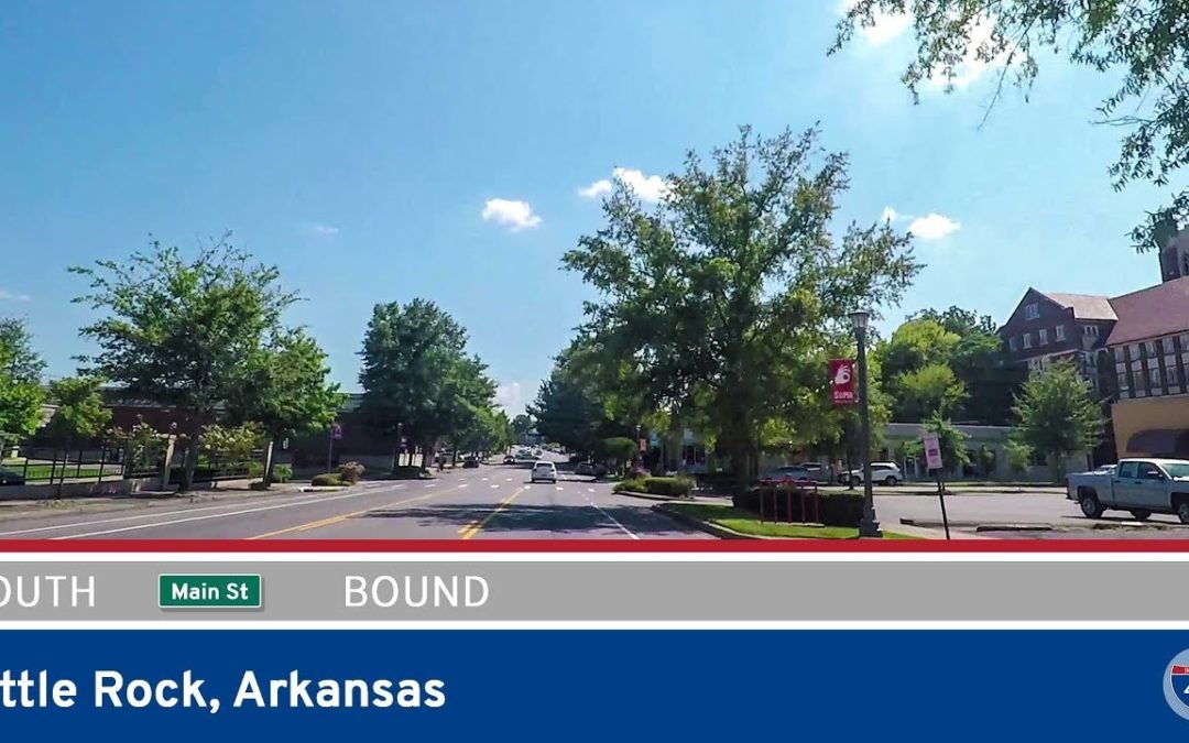 Main Street in Little Rock – Southbound – Arkansas