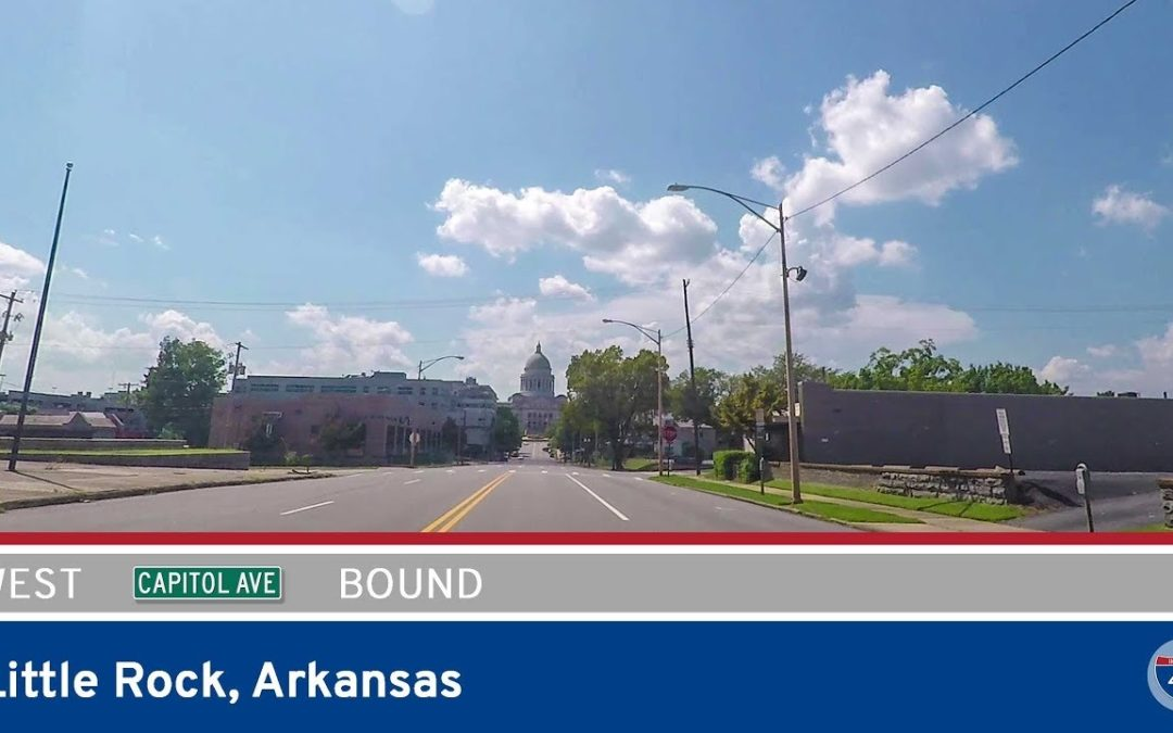 Capitol Ave Westbound in Little Rock – Arkansas