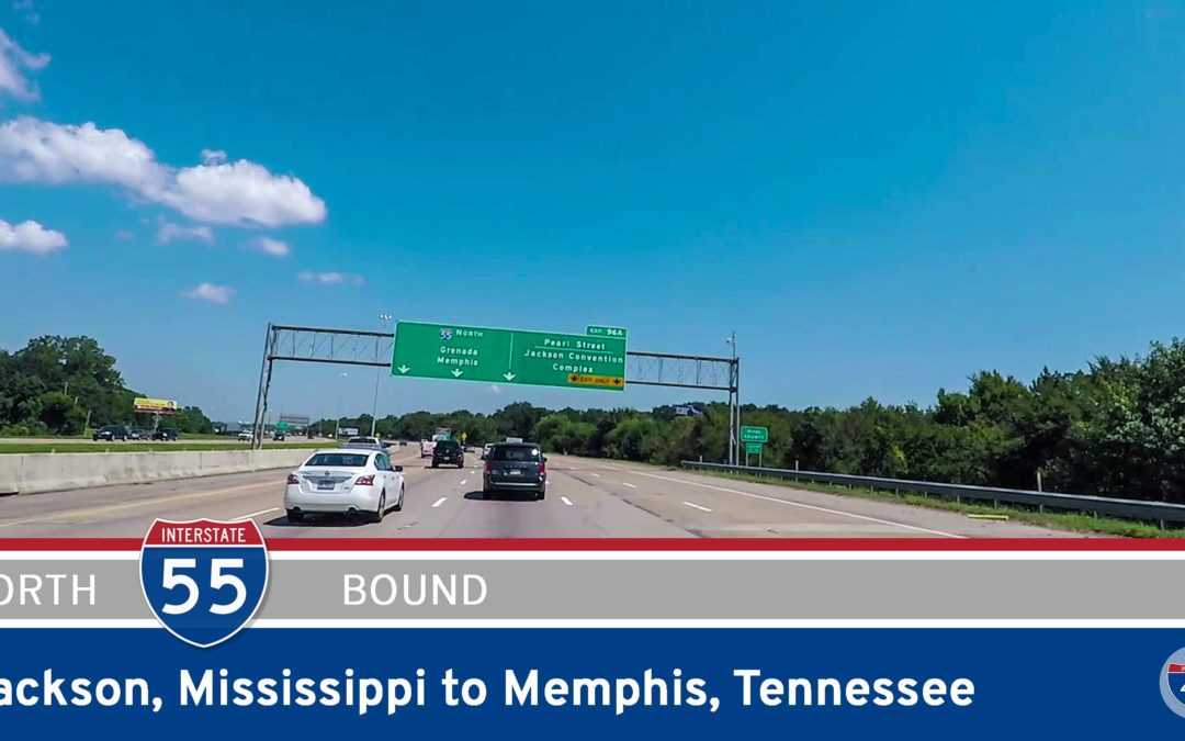 Interstate 55 – Jackson to Memphis – Mississippi