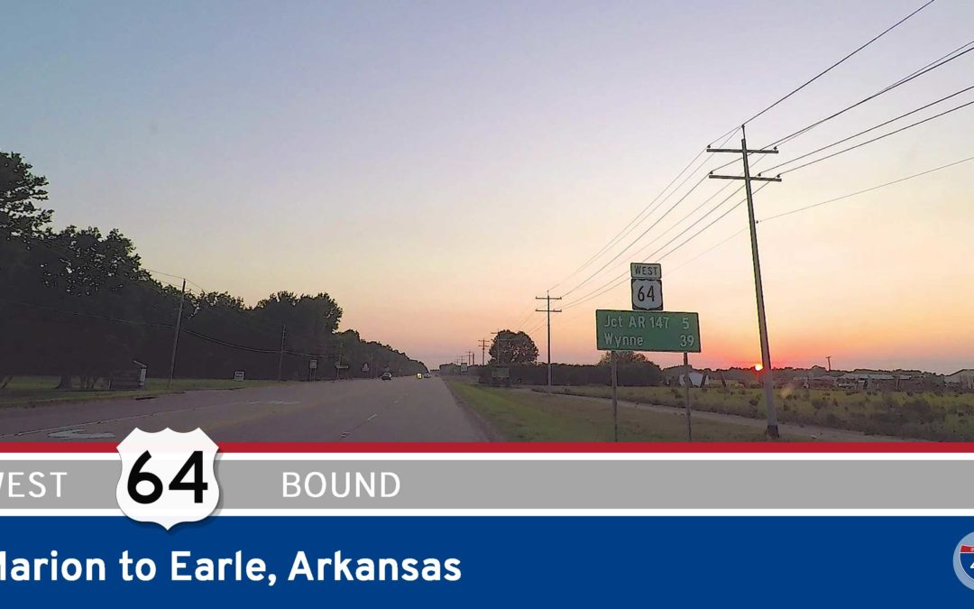 U.S. Highway 64 – Marion to Earle – Arkansas