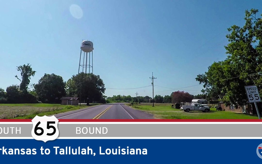 U.S. Highway 65 – Arkansas to Tallulah – Louisiana