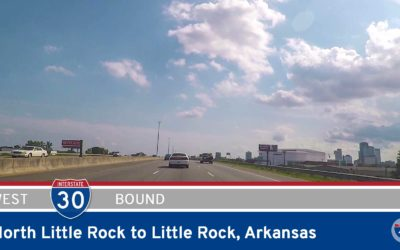Interstate 30 – North Little Rock to Little Rock – Arkansas