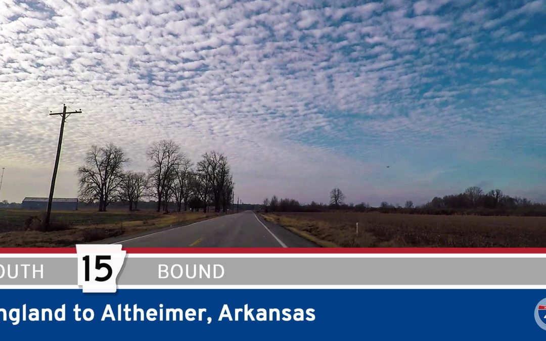 Arkansas Highway 15 – England to Altheimer