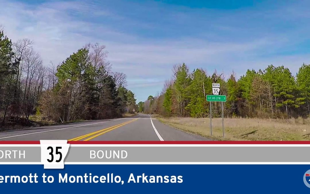 Arkansas Highway 35 – Dermott to Monticello