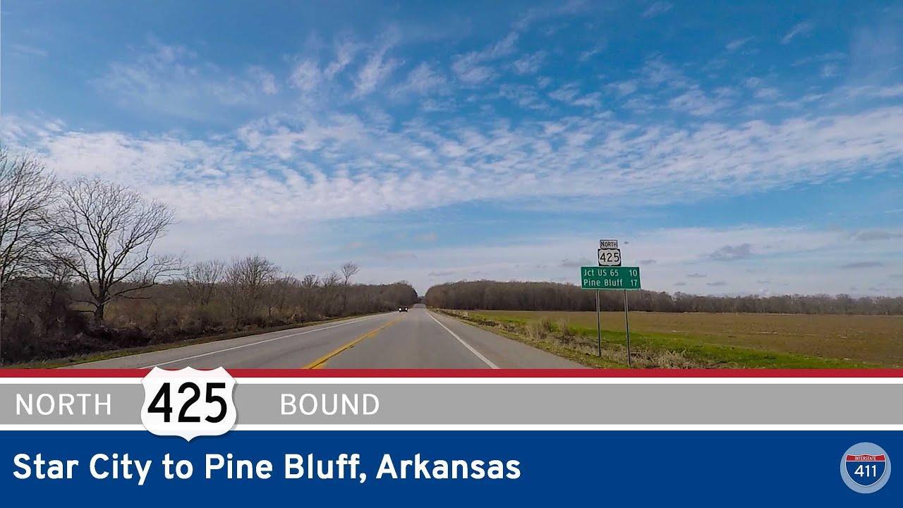 U.S. Highway 425 - Star City to Pine Bluff - Arkansas
