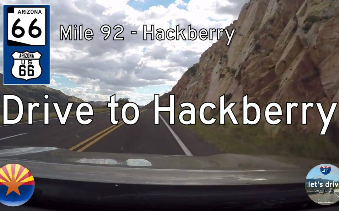 Arizona Highway 66 – Mile 92 to Hackberry