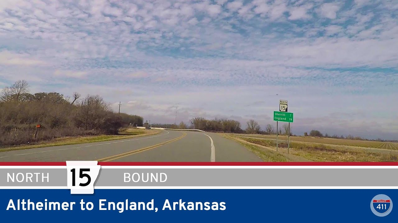 Arkansas Highway 15 - Altheimer to England