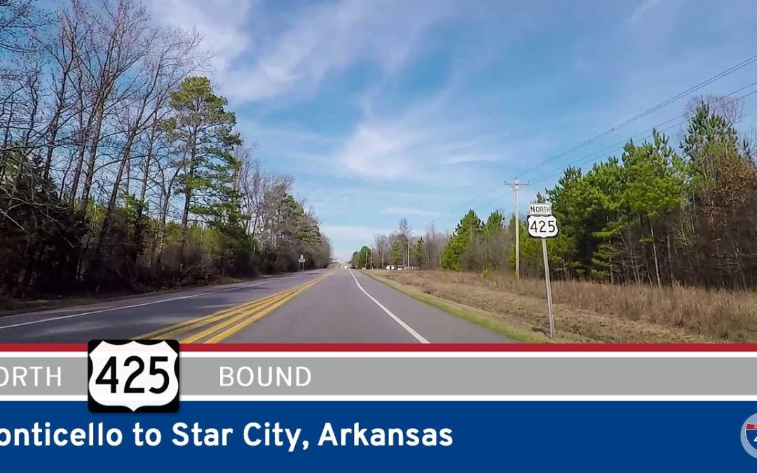 U.S. Highway 425 – Monticello to Star City – Arkansas