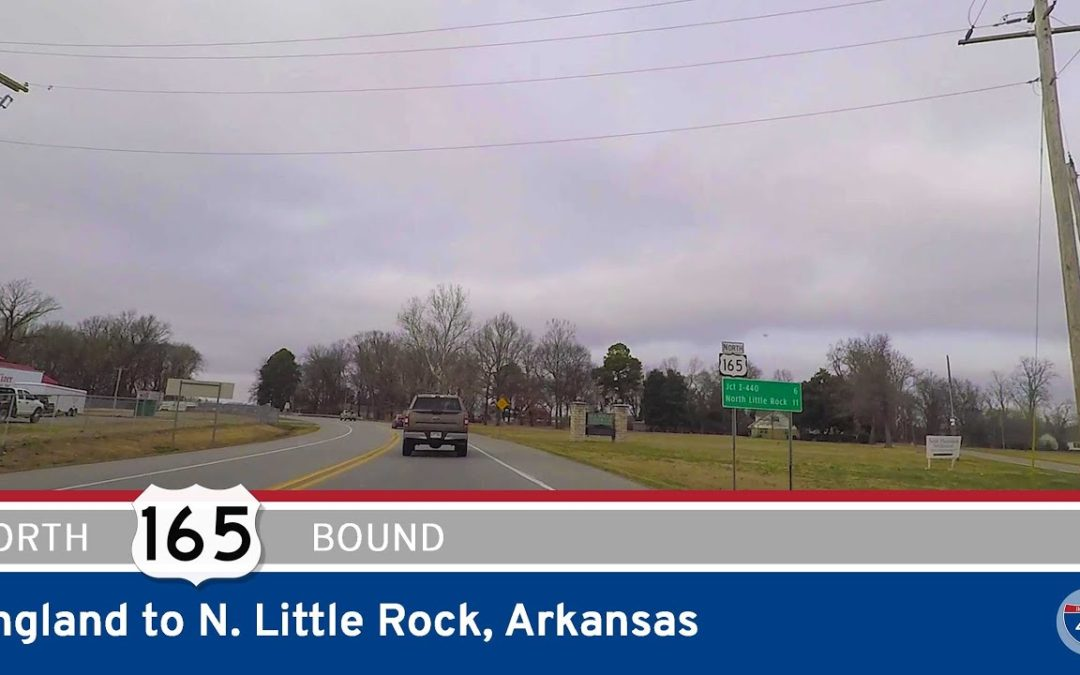 U.S. Highway 165 – England to North Little Rock – Arkansas