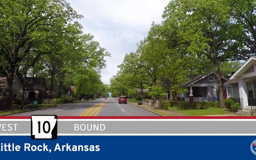Arkansas Highway 10 Westbound in Little Rock